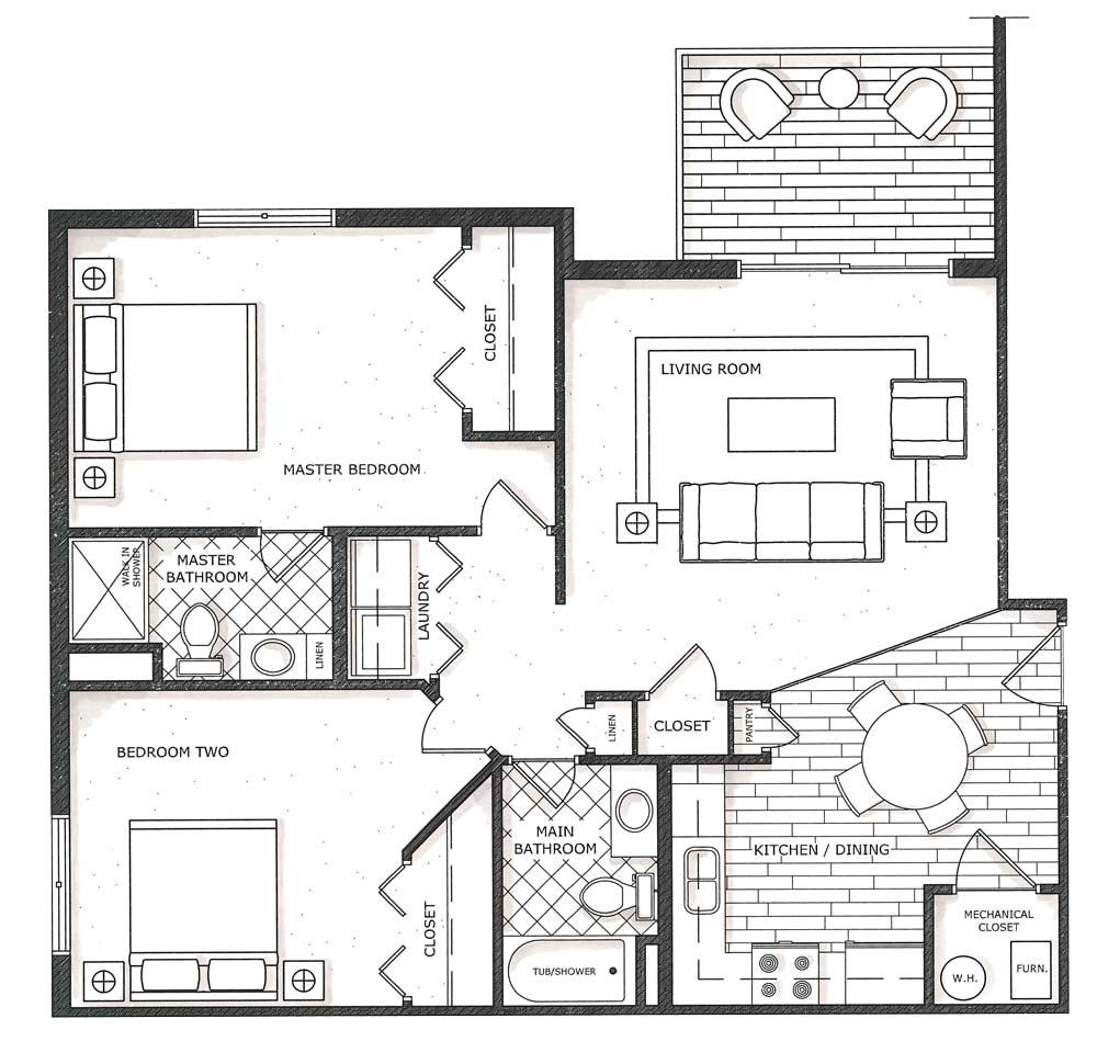 Floor Plans - Waterloo Condos for Rent